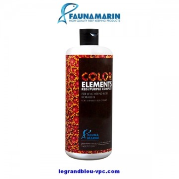 COLOR éléments red/purple FAUNAMARIN