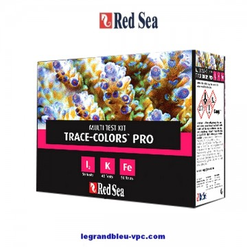 Red Sea Multi Test Kit Trace Colors Pro