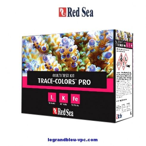 Red Sea Multi Test Kit Trace Colors Pro