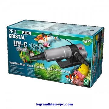Stérilisateur JBL ProCristal Compact UV-C 18w