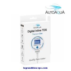 Digital Inline TDS Titanium one AUTOAQUA