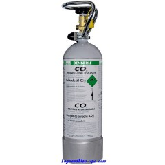 BOUTEILLE CO2 RECHARGEABLE - 1500 GR