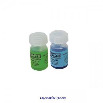 SOLUTIONS ETALONS  pH 7 et  9 - 7040.120 TUNZE