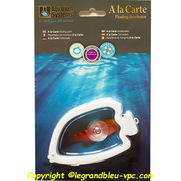 A la carte r partiteur nourriture aquarium systems le for Nourriture aquarium