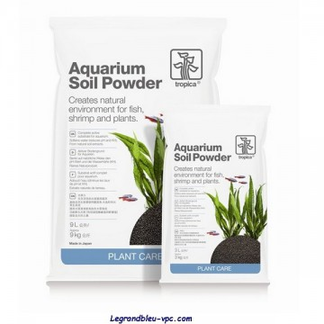 AQUARIUM SOIL POWDER  9L. Tropica