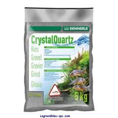 GRAVIER QUARTZ GRIS CLAIR 5kg DENNERLE