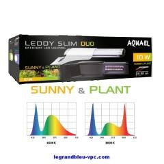 AQUAEL LEDDY SLIM DUO Sunny et Plant 10 watts